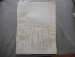 PROFILS RENAISSANCE & LOUIS XIII (demi Exécution)   NOUVEAU ROUBO - Planches & Plans Techniques