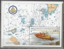 TAAF 2004 Yvert Bloc Feuillet 10 Neuf ** Cote (2015) 19.60 Euro Levès Hydrographiques En Terre Adélie - Blocs-feuillets