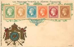 - Themes Divers -ref-M695- Poste & Facteurs - Les 1ers Timbres De L Empire Français - Timbre - Philatelie - - Post