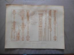 DEVELOPPEMENT ET ASSEMBLAGE D´UNE PORTE COCHERE   NOUVEAU ROUBO - Planches & Plans Techniques