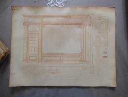 DEVANTURE DE MAGASIN STYLE LOUIS XV   NOUVEAU ROUBO - Planches & Plans Techniques