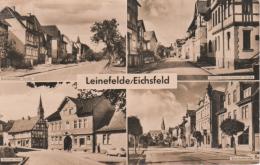 Leinefelde Worbis - S/w Mehrbildkarte 1 - Leinefelde