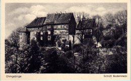 Leinefelde Worbis Wintzingerode - S/w  Schloß Bodenstein - Leinefelde