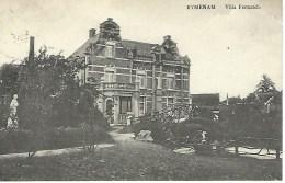 RYMENAM - RIJMENAM : Villa Fernanda - Ed. F. Thys - Cachet Poste 1922 - Bonheiden