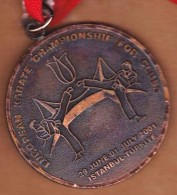 AC - EUROPEAN KARATE CHAMPIONSHIP FOR CLUBS MEDAL 29 JUNE 01 JULY 2001 ISTANBUL - Martial Arts