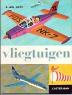 Vliegtuigen Door Alain Grée Serie Marijke  En Piet Vintage Casterman 28 Blz - Non Classés