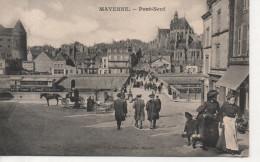 CPA - MAYENNE - PONT NEUF - A. CHEVRINAIS - ANIMEE - CHOCOLAT MEUNIER - Mayenne