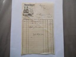 St-HILAIRE St-FLORENT VEUVE AMIOT FACTURE DU 28 NOVEMBRE 1930 - Factures