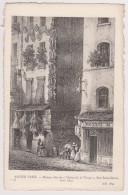 D 75 - ANCIEN PARIS - 58 - Rue Saint-Denis - Maison Dite De L'Arbre De La Vierge Vers 1840 - France