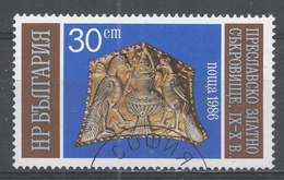 Bulgaria 1986. Scott #3178 (U) Gold Artifacts - Bulgarie