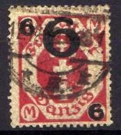 Danzig 1922 Mi 106 A, Gestempelt [020716XVII] - Danzig