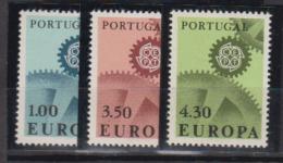 PORTUGAL    1967    EUROPA           N°     1007 / 1009    COTE   17 € 50        ( E 35 ) - ...-1853 Préphilatélie