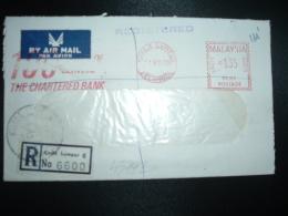 LR Par SINGAPORE Pour La FRANCE EMA PB 163 à 135 Du 14 XII 70 KUALA LUMPUR - Malaysia (1964-...)