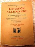 Anloy, Hamipré, Maissin, Saint-médard, Porcheresse, Bièvre, Gedinne, Louette-saint-pierre…Première Guerre, La Bataille D - 1914-18