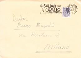 Italir-Flamme- Roma Ferrovia-24/12/1959-Soldati A Cavallo/di Prossima Programmazione ( Titre De Film) - Cinema