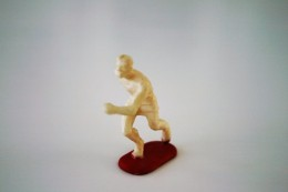 Elastolin, Lineol Hauser, H=40mm, Runner - Unpainted, Plastic - Vintage Toy Soldier - Figurines