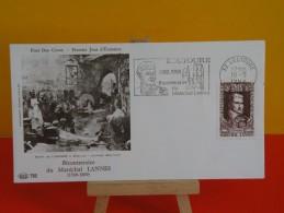 FDC- Bicentenaire Du Maréchal Lannes 1769/1809 - 32 Lectoure - 10.5.1969 - 1er Jour, Coté 1,80 € - FDC