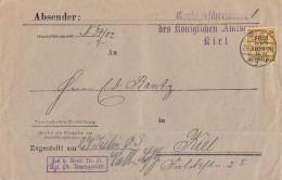 DR Brief Dienst EF Minr.D6 Kiel 26.7.03 - Dienstpost