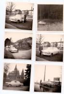 PHOTO - AUTOMOBILE - OPEL REKORD, 10 Photos 9 X 9 Cm - Automobile