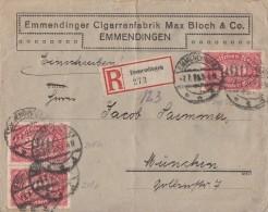 DR R-Brief Mef Minr.3x 248 Emmendingen 7.7.23 - Allemagne