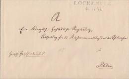 Brief Gel. Von L2 Löckeritz 4.5. Nach Potsdam - Deutschland