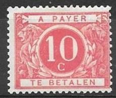 1900 Postage Due 10c, Mint Light Hinged - Postage Due