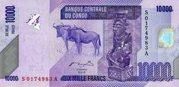 CONGO DEMOCRATIC REPUBLIC 10000 FRANCS 2006 (2012) P-103a UNC [ CD325a ] - Democratic Republic Of The Congo & Zaire