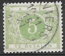 1895 Postage Due 5c, Used - Postage Due