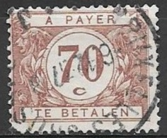 1929 Postage Due 70c, Used - Postage Due