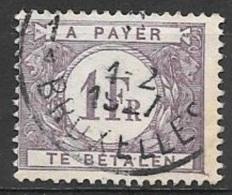 1925 Postage Due 1Fr, Violet, Used - Postage Due