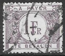 1932 Postage Due 1Fr, Rose Lilac, Used - Postage Due