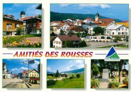 LES ROUSSES (39, Jura) : Multivues, Le Village, La Cure, Le Golf, Statue Louis Pasteur, Frontière (non Circulée, Neuve) - Otros Municipios