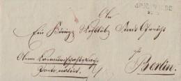 Brief Gel. Von L2 Arnswalde 28.5. Nach Berlin - Deutschland