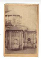 """Photographie   Fontevrault  ( Fontevraud ), Abside De La Chapelle , Phot. """" P. S. """"  , Vers 1880 ? ( Format Cabinet ) . - Ancianas (antes De 1900)"""