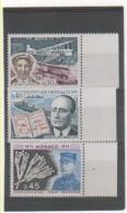 MONACO 1974 YT N° 959-60-61 Neuf ** MNH - Nuevos
