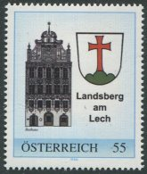 ÖSTERREICH / PM Nr. 8012744 / Landsberg Am Lech / Blauer Rahmen / Postfrisch