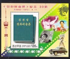 Corée Du Nord-Bloc De 2003 N°437-30è Annivers. De La Publication De L'ouvrage De Kim Jong Il Sur L'art Du Cinéma