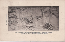"""CAEN - Bas-Relief Du Monument Aux """" Enfants Du Calvados """" - Caen"""