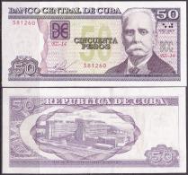 2014-BK-23 CUBA 2014. 50$ CALIXTO GARCIA. UNC REEMPLAZO REPLACEMENT (BZ). - Cuba