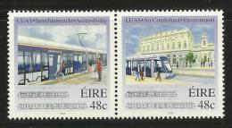 IRELAND 2004 INTRODUCTION OF LUAS TRAM SET MNH - Tramways
