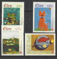 IRELAND 2004 CHILDRENS PAINTINGS SET MNH - Kunst