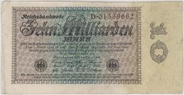 10 Milliarden Mark - Reichsbanknote - German Reich / Deutsches Reich - Year 1924 - [ 3] 1918-1933 : Weimar Republic