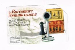 TELECOM ITALIA - C. & C. F4407 -  RICCIONE FILATELIA 2007: RACCONTARE LA COMUNICAZIONE    -  USATA - RIF. CP - Public Special Or Commemorative