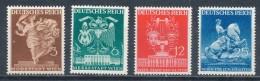 Deutsches Reich 768/71 ** Mi. 14,- - Nuovi