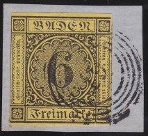 Baden     Michel    .   7          .            O             .          Gebraucht  /  Cancelled - Baden