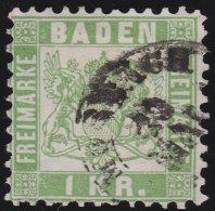 Baden     Michel    .     23         .            O             .          Gebraucht  /  Cancelled - Baden