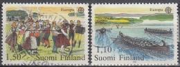 Finlandia 1981 Nº 845/46 Usado - Gebraucht