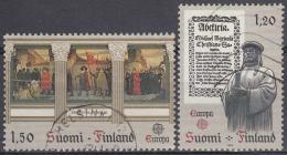 Finlandia 1982 Nº 865/66 Usado - Gebraucht