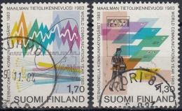 Finlandia 1983 Nº 888/89 Usado - Gebraucht