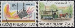 Finlandia 1983 Nº 890/91 Usado - Gebraucht